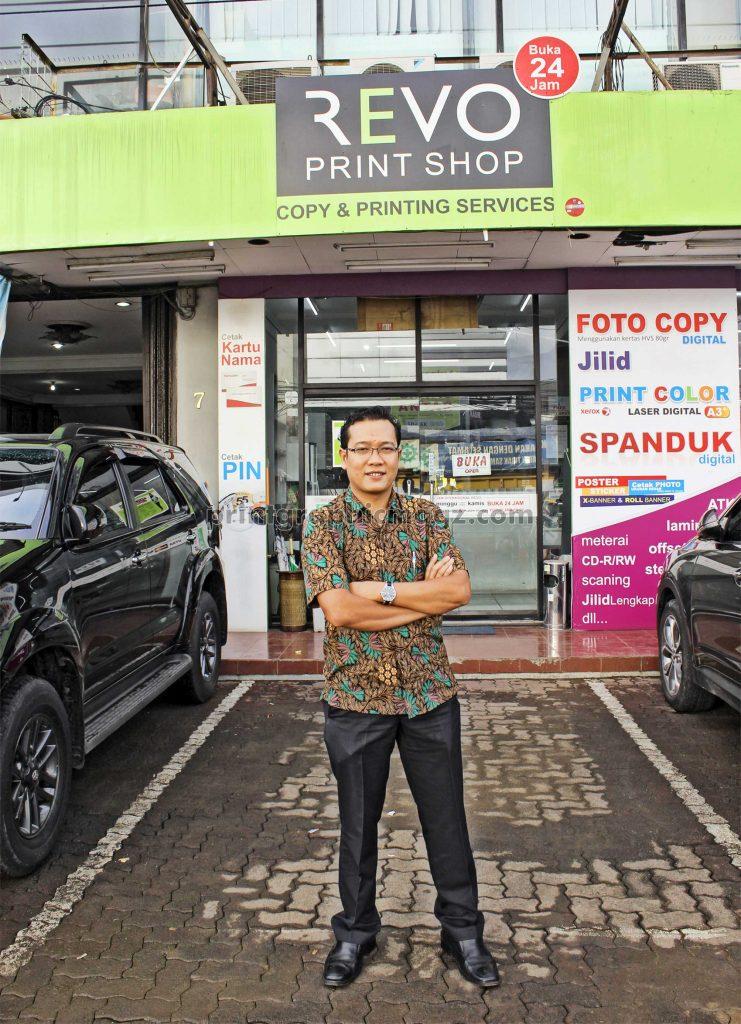 revo print, retail terbesar di jakarta