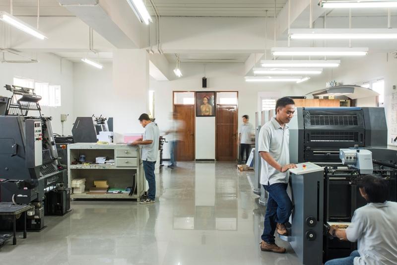 printing Bali, daito