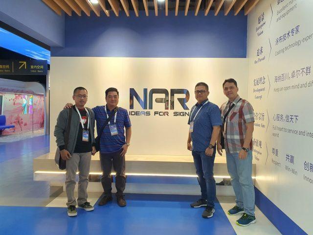 Kunjungan Ke Pabrik Material Digital Printing, Shanghai NAR Industrial Co, Ltd.