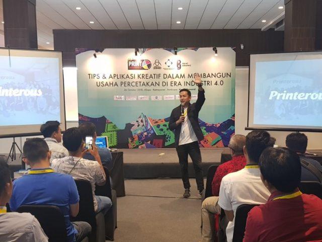 """Kevin Osmond : """"Printerous Adalah Platform Bagi Printing Partner"""""""