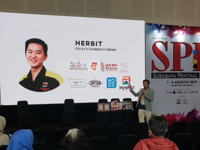 Herbit L. (CEO Rhino Indonesia), Modal Usaha Pertamanya dari Tabungannya Sejak SD !