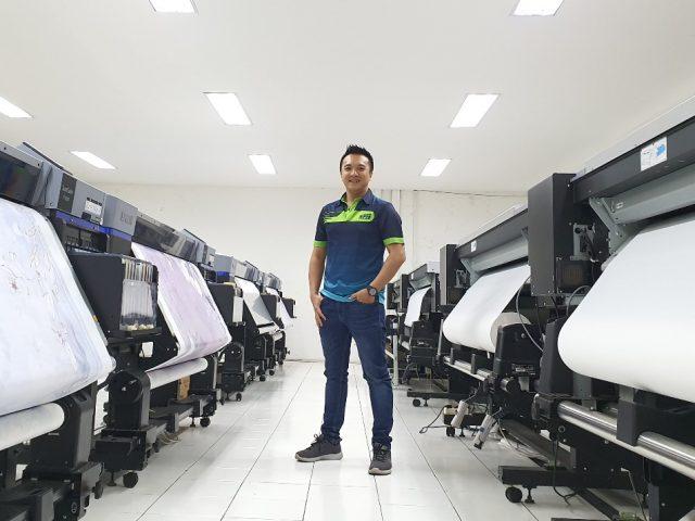 Hendri Roy (Owner Royindo Pratama Mandiri), Sukses Membangun Bisnis Sublimasi Printing