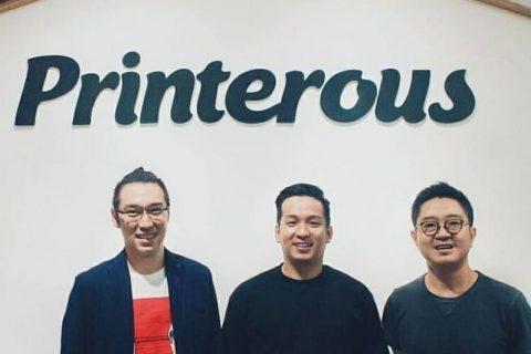 Printerous, Printing Marketplace Sukses Yang Dirintis '3 Muskeeter' Kreatif Penggila Basket