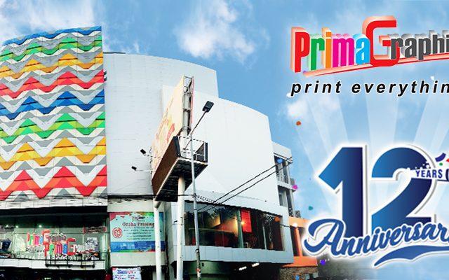 Happy 12th Anniversary PrimaGraphia!