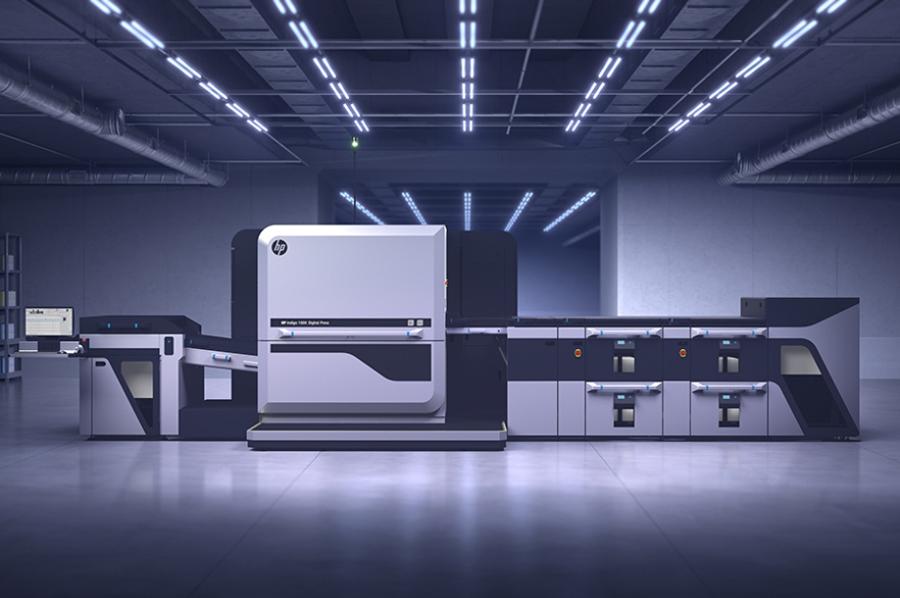 HP Indigo untuk cetak komersial
