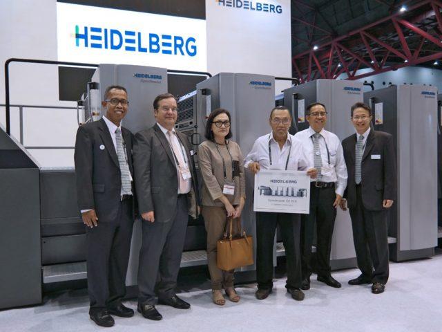 PT Intertekno Grafika Sejati (Integras) Instal Heidelberg Speedmaster CX 75-5