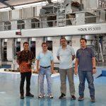 Saranaprima membangun kembali Rotogravure dengan BOBST NOVA RS 5003
