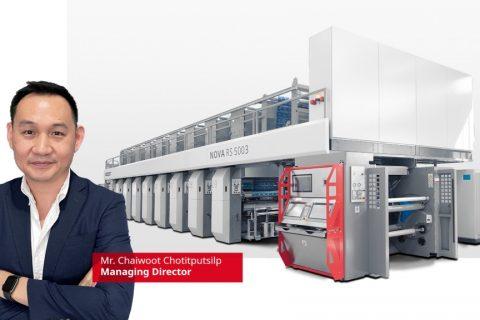 SPC Interprint, di Thailand, meningkatkan kapasitas produksi dengan BOBST NOVA RS 5003 baru di Asia Tenggara