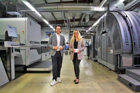 Esser DruckSolutions GmbH Membuat Investasi double HP dengan install HP Indigo 100K dan HP PageWide Web Press T250 HD
